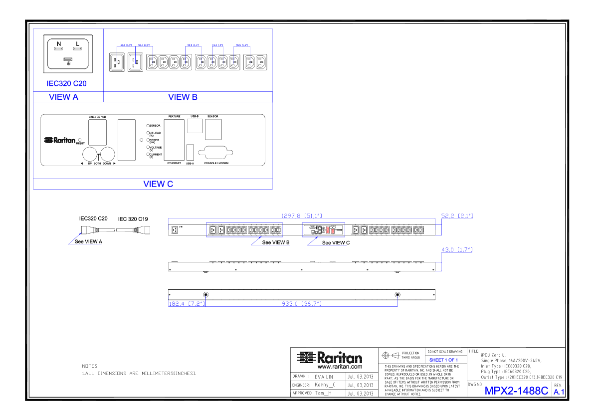 rack pdu px2 1488c product selector raritan