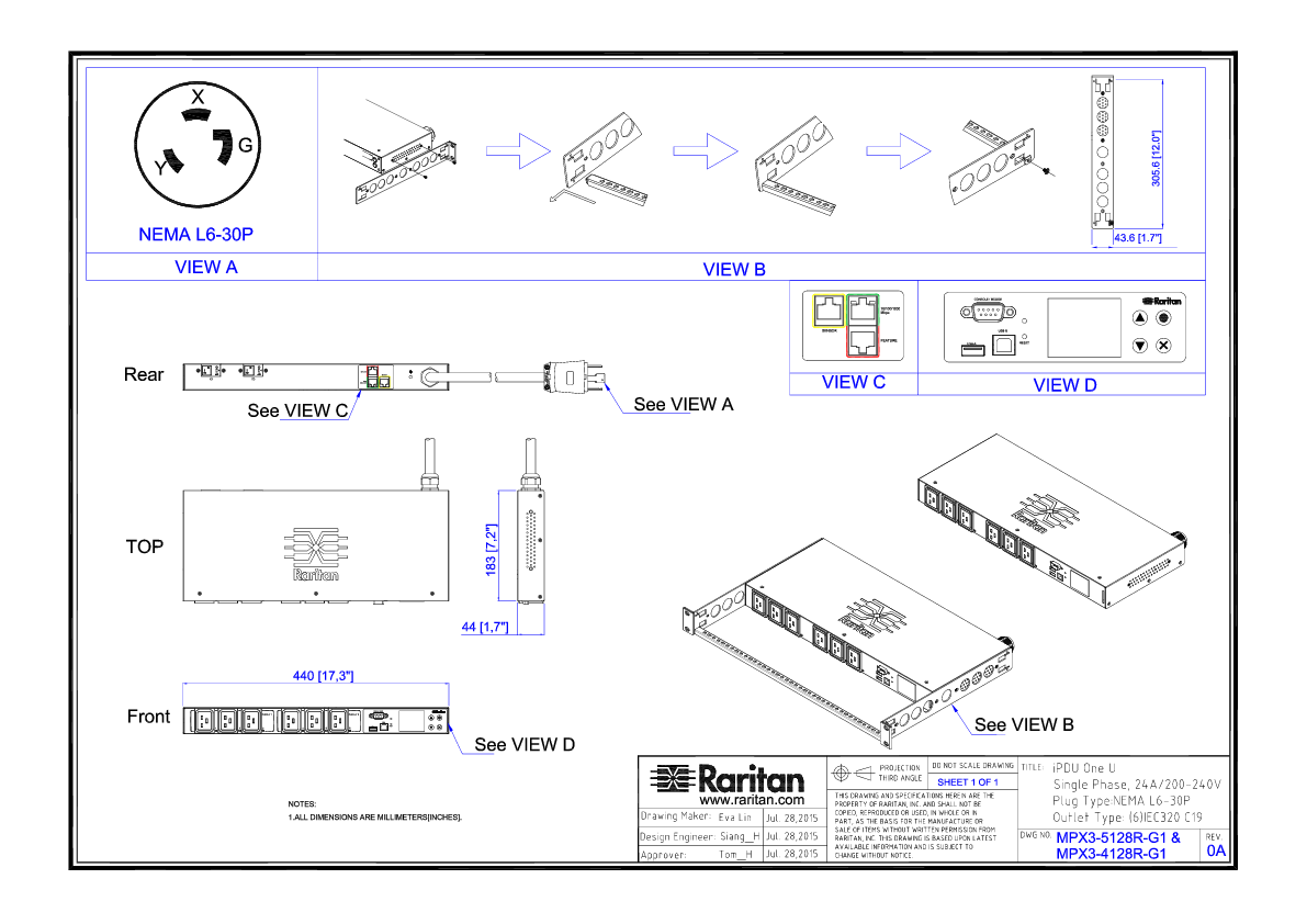 Nema L6 30 Wiring Diagram
